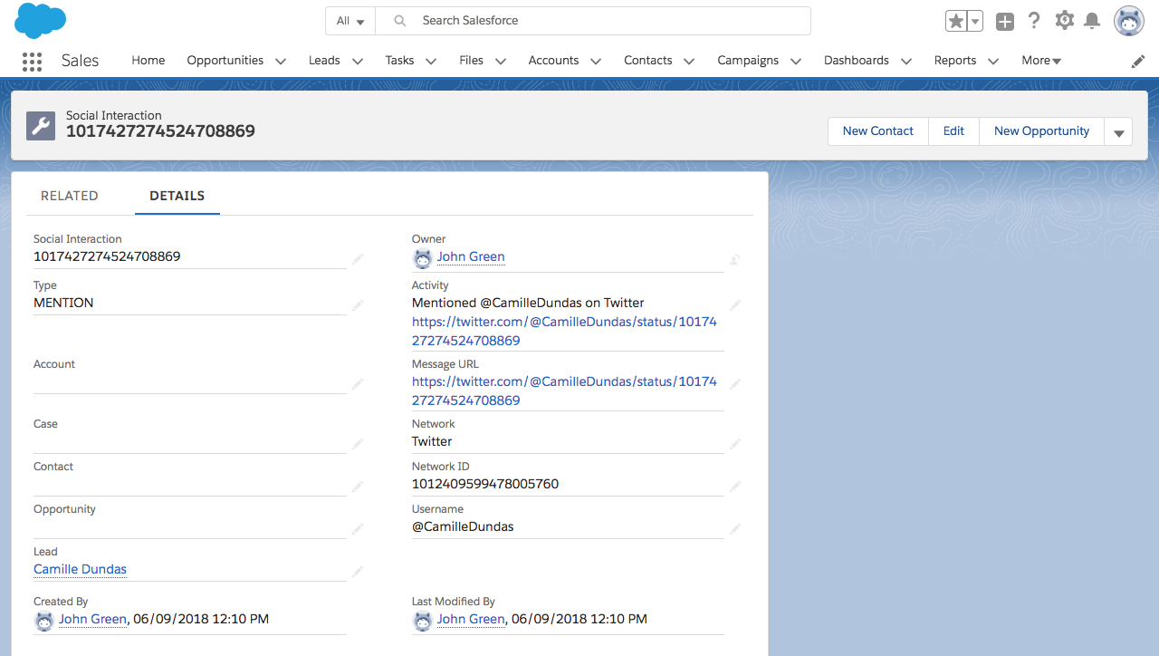 Salesforce Enterprise Integration SCREENSHOT