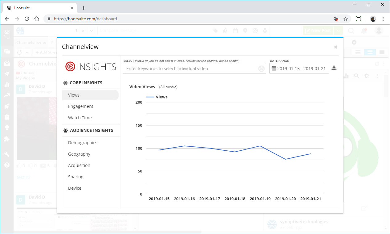 Channelview Insights SCREENSHOT